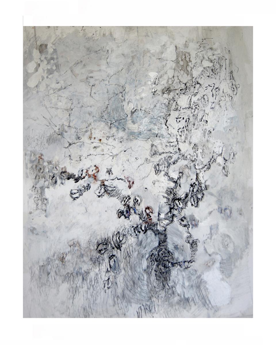Hoofdboom I Gemengde techniek 58-75 cm 2016