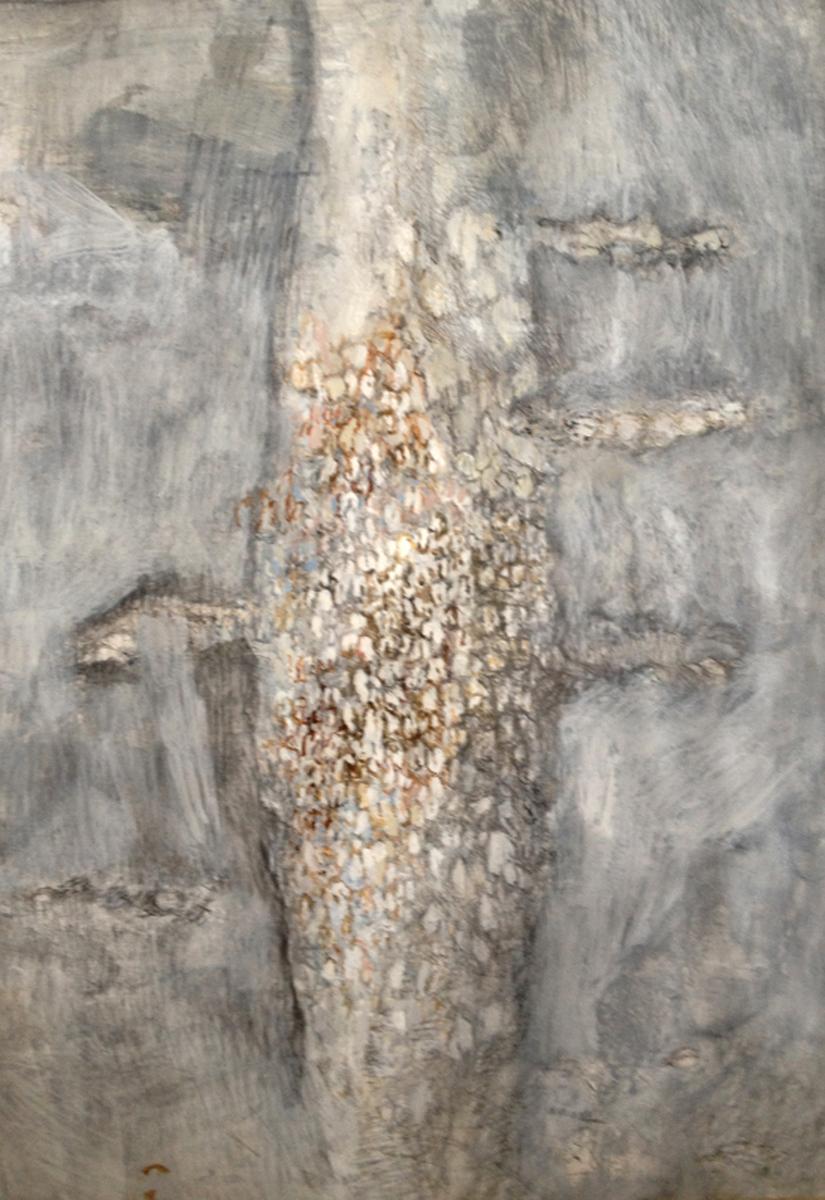 Baobabvrucht I Gemengde techniek 60-75cm 2016