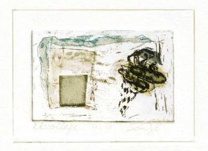 Etscollage nr.4 van de 2e zinken doos