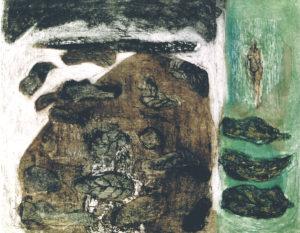 Herftpalet Etscollage 50-60cm 1995