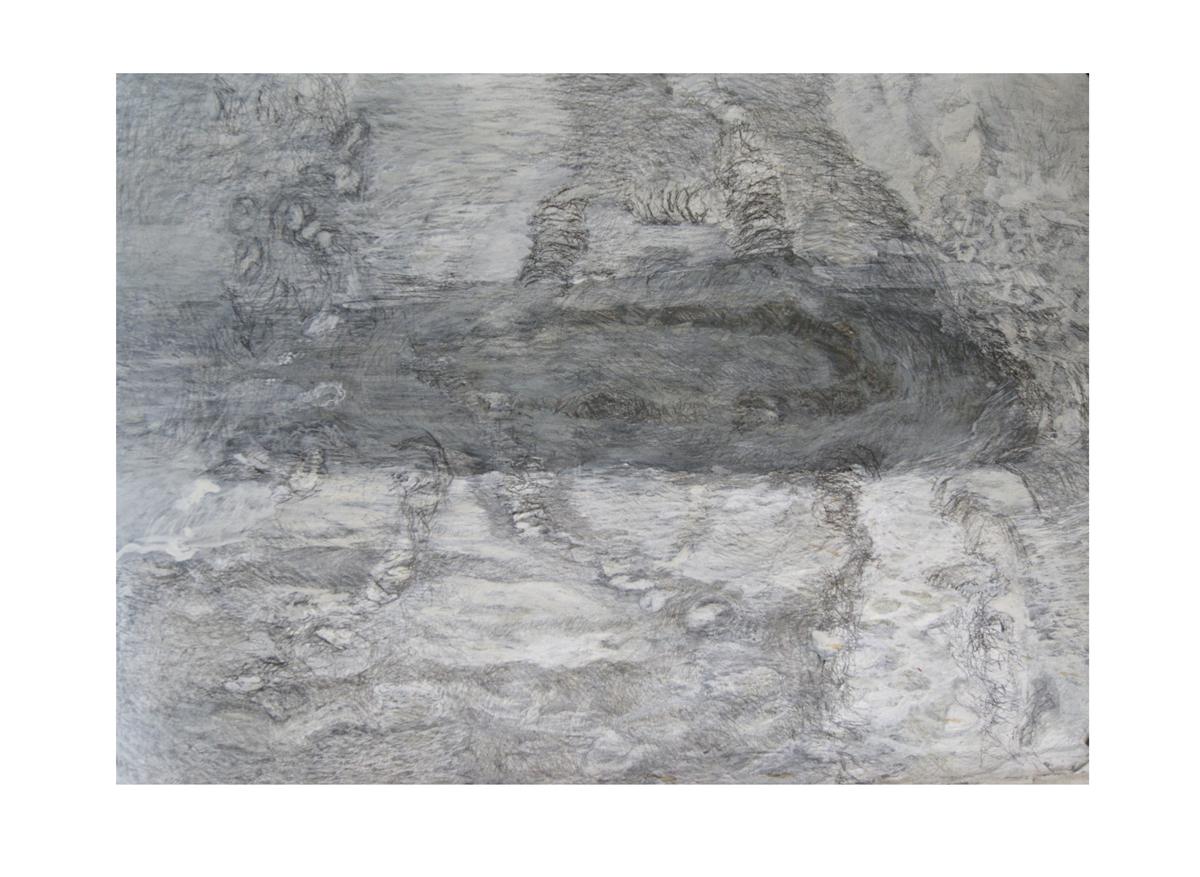 Vervagen III Gemengde techniek 53-65cm 2014